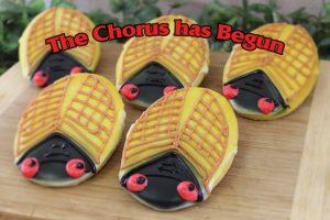 Cicada Cookies