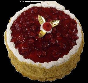 Cheery Cheesecake Jubilee Torte