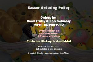 Easter Ordering