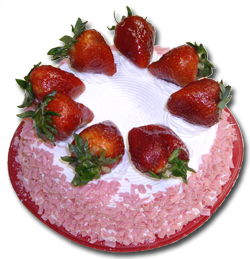 Strawberry Tres Leches Torte