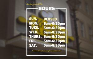 Regular Hours Returning