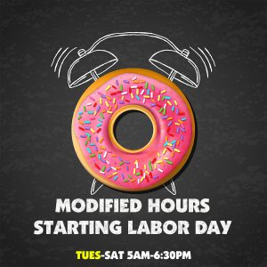 Modified Hours