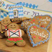 Oktoberfest Gingerbread hearts and men