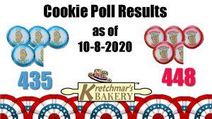 cookie poll results after vp debate