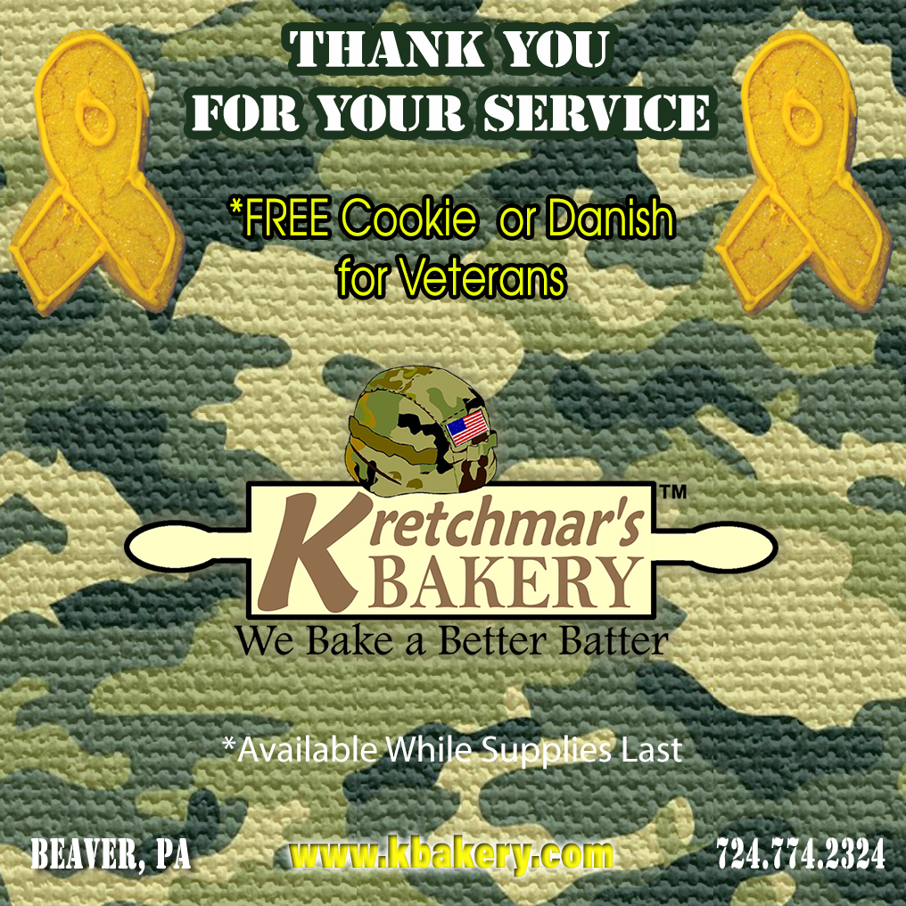 Veterans Day - Free Cookie