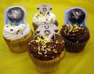 Pittsburgh Penguins Cupcakes
